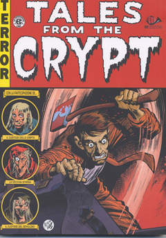 Copertina TALES FROM THE CRYPT M6 n.5 - BIBLIOTECA EC COMICS, 001 EDIZIONI