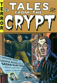Copertina TALES FROM THE CRYPT (m6) Ried n.1 - TALES FROM THE CRYPT, 001 EDIZIONI