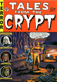 Copertina TALES FROM THE CRYPT (m6) Ried n.2 - TALES FROM THE CRYPT, 001 EDIZIONI