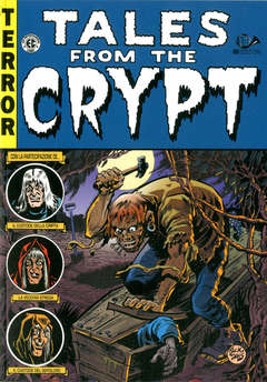 Copertina TALES FROM THE CRYPT (m6) Ried n.3 - TALES FROM THE CRYPT, 001 EDIZIONI