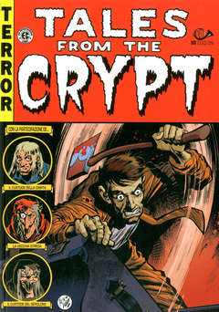 Copertina TALES FROM THE CRYPT (m6) Ried n.5 - TALES FROM THE CRYPT, 001 EDIZIONI