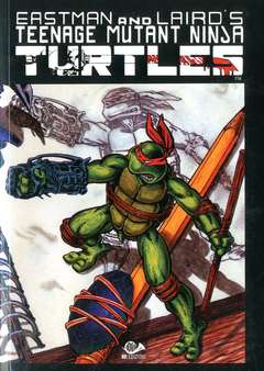 Copertina TEENAGE MUTANT NINJA TURTLESm6 n.3 - TEENAGE MUTANT NINJA TURTLES, 001 EDIZIONI