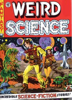 Copertina WEIRD SCIENCE (m4) n.2 - UOMO E SUPERUOMO, 001 EDIZIONI