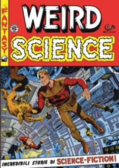 Copertina WEIRD SCIENCE (m4) n.3 - BIBLIOTECA EC COMICS - GLI EREDI DELLA TERRA, 001 EDIZIONI