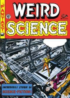 Copertina WEIRD SCIENCE (m4) n.4 - BIBLIOTECA EC COMICS - UN NUOVO INIZIO, 001 EDIZIONI