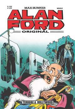Copertina ALAN FORD n.609 - TERRORE A HOLLYWOOD, 1000 VOLTE MEGLIO PUBLISHING