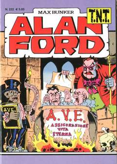 Copertina ALAN FORD TNT n.222 - ALAN FORD TNT, 1000 VOLTE MEGLIO PUBLISHING