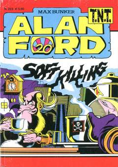 Copertina ALAN FORD TNT n.223 - SOFT KILLING, 1000 VOLTE MEGLIO PUBLISHING