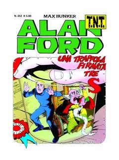 Copertina ALAN FORD TNT n.252 - UNA TRAPPOLA FIRMATA 3 ESSE, 1000 VOLTE MEGLIO PUBLISHING