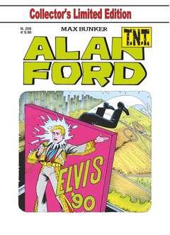 Copertina ALAN FORD TNT n.256 - ELVIS '90, 1000 VOLTE MEGLIO PUBLISHING