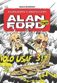 Copertina ALAN FORD TNT RANDOM COLL. n.13 - VOLO USAF 317, 1000 VOLTE MEGLIO PUBLISHING