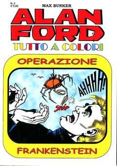 Copertina ALAN FORD TUTTO A COLORI n.3 - ALAN FORD TUTTO A COLORI, 1000 VOLTE MEGLIO PUBLISHING