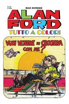Copertina ALAN FORD TUTTO A COLORI n.56 - VUOI VENIRE IN CROCIERA CON ME?, 1000 VOLTE MEGLIO PUBLISHING