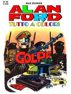 Copertina ALAN FORD TUTTO A COLORI n.60 - GOLPE, 1000 VOLTE MEGLIO PUBLISHING