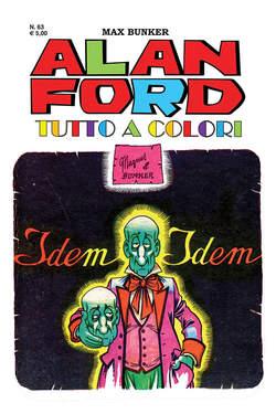 Copertina ALAN FORD TUTTO A COLORI n.63 - IDEM-IDEM, 1000 VOLTE MEGLIO PUBLISHING