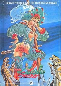 Copertina GRANDI PROTAGONISTI DEL FUMETTO n.15 - L'UCCELLO SACRO, 1984