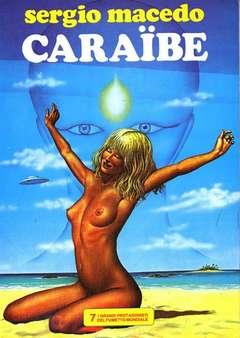 Copertina GRANDI PROTAGONISTI DEL FUMETTO n.7 - CARAIBE, 1984
