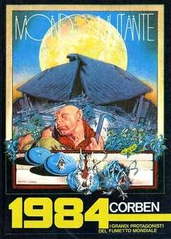 Copertina GRANDI PROTAGONISTI DEL FUMETTO n.1 - MONDO MUTANTE, 1984