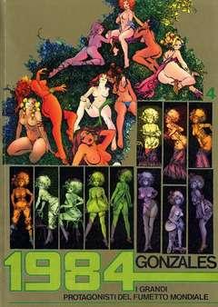 Copertina GRANDI PROTAGONISTI DEL FUMETTO n.4 - PEPE GONZALES, 1984