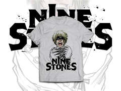 Copertina T-SHIRT n.13 - SPN02 - T-SHIRT NINE STONES WHITE VERSION M, 2BNERD