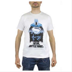 Copertina T-SHIRT n.42 - BATMAN V SUPERMAN EPIC BATTLE RAGES XL, 2BNERD