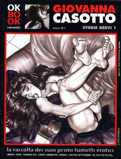 Copertina OKBOOK n.1 - GIOVANNA CASOTTO - STORIE BREVI, 3NTINI & C.