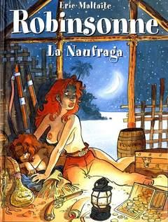 Copertina ROBINSONNE NAUFRAGA n. - LA NAUFRAGA, 3NTINI & C.
