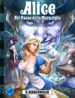 Copertina ALICE NEL PAESE DELLE...(m4) n.1 - IL BIANCONIGLIO, 7EVEN AGE ENTERTAINMENT