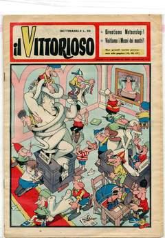Copertina BUSTE CON ADESIVO n.14 - IL VITTORIOSO 295x400+60, 50 PEZZI, A&M