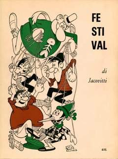 Copertina FESTIVAL COPERTINA BIANCA n. - CON PINOCCHIO, A.V.E.