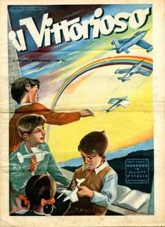 Copertina VITTORIOSO 1951 n.13 - VITTORIOSO 1951             13, A.V.E.