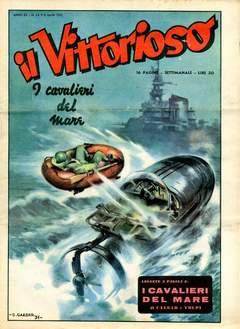 Copertina VITTORIOSO 1951 n.14 - VITTORIOSO 1951             14, A.V.E.