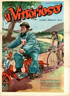 Copertina VITTORIOSO 1951 n.15 - VITTORIOSO 1951             15, A.V.E.