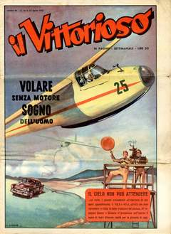 Copertina VITTORIOSO 1951 n.16 - VITTORIOSO 1951             16, A.V.E.