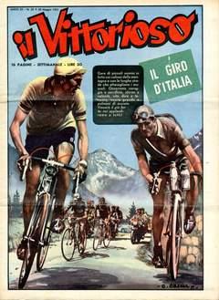 Copertina VITTORIOSO 1951 n.20 - VITTORIOSO 1951             20, A.V.E.