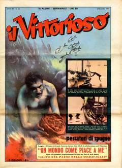 Copertina VITTORIOSO 1951 n.44 - VITTORIOSO 1951             44, A.V.E.