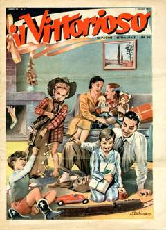 Copertina VITTORIOSO 1951 n.1 - VITTORIOSO 1951              1, A.V.E.