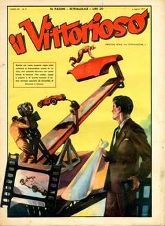 Copertina VITTORIOSO 1951 n.9 - VITTORIOSO 1951              9, A.V.E.