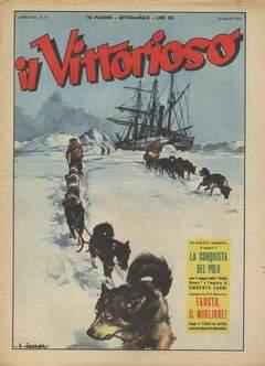 Copertina VITTORIOSO 1954 n.11 - VITTORIOSO 1954             11, A.V.E.