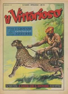 Copertina VITTORIOSO 1954 n.12 - VITTORIOSO 1954             12, A.V.E.