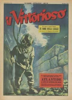 Copertina VITTORIOSO 1954 n.13 - VITTORIOSO 1954             13, A.V.E.