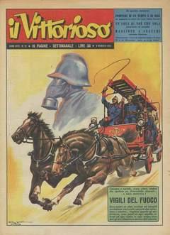 Copertina VITTORIOSO 1954 n.19 - VITTORIOSO 1954             19, A.V.E.