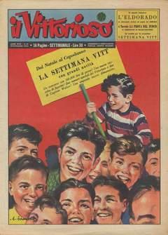 Copertina VITTORIOSO 1954 n.51 - VITTORIOSO 1954             51, A.V.E.