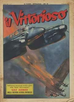 Copertina VITTORIOSO 1954 n.2 - VITTORIOSO 1954              2, A.V.E.