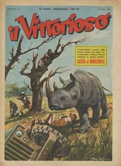 Copertina VITTORIOSO 1954 n.3 - VITTORIOSO 1954              3, A.V.E.