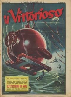 Copertina VITTORIOSO 1954 n.4 - VITTORIOSO 1954              4, A.V.E.