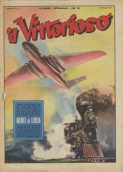 Copertina VITTORIOSO 1954 n.5 - VITTORIOSO 1954              5, A.V.E.