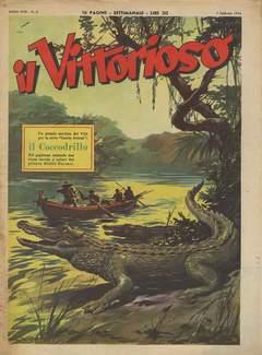 Copertina VITTORIOSO 1954 n.6 - VITTORIOSO 1954              6, A.V.E.