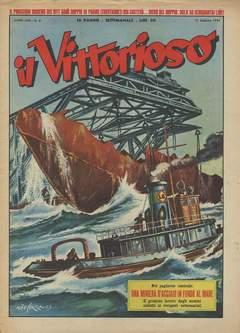 Copertina VITTORIOSO 1954 n.8 - VITTORIOSO 1954              8, A.V.E.
