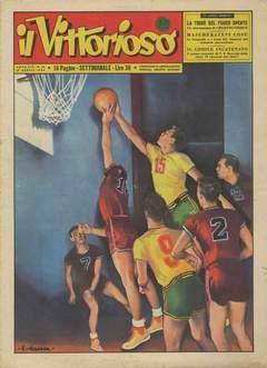 Copertina VITTORIOSO 1955 n.16 - VITTORIOSO 1955             16, A.V.E.